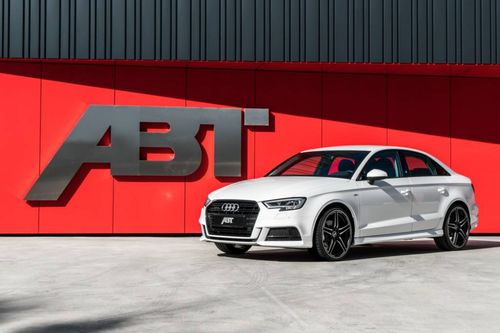 ABT A3 Limousine 8V07 weiss 2017 001 ≫ Tuning【 Rieger Oficial ®】