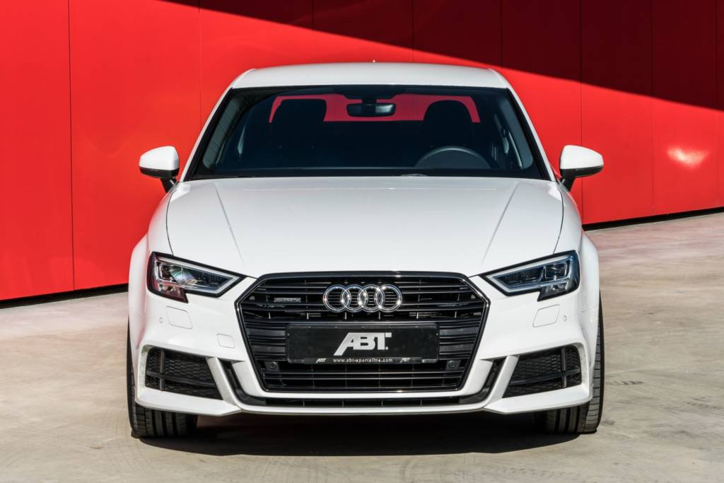 ABT A3 Limousine 8V07 weiss 2017 002 ≫ Tuning【 Rieger Oficial ®】