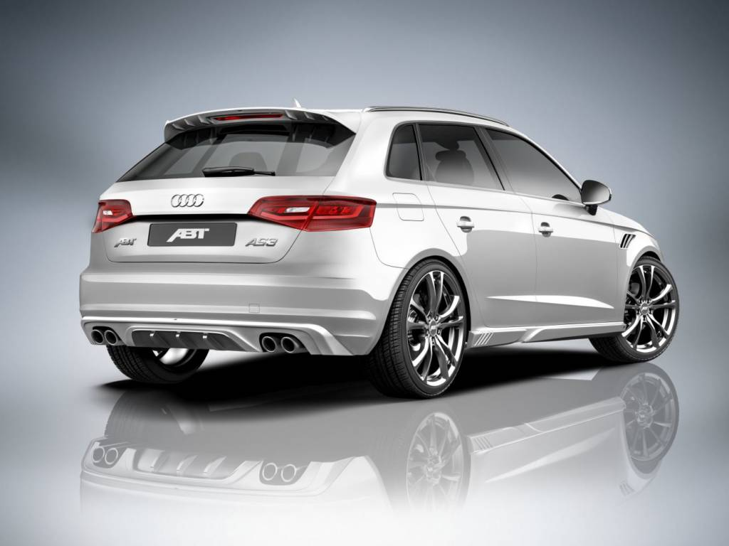Audi A3 Sportback heck presse ≫ Tuning【 Rieger Oficial ®】