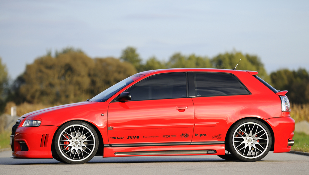 Rieger A3 S3 8L7 ≫ Tuning【 Rieger Oficial ®】