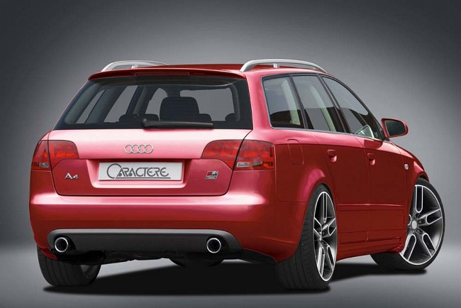 caractere audi a4 3 ≫ Tuning【 Rieger Oficial ®】